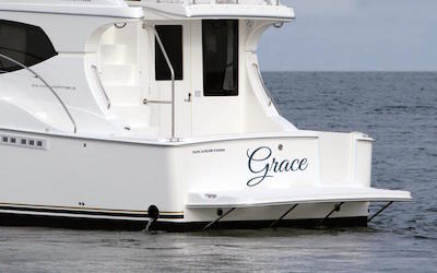 choosing boat names - naming your boat