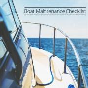 Boat Maintenance Checklist PDF