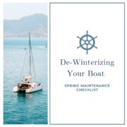 De-Winterizing Your Boat