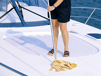 De-winterizing your boat checklist - Cleaning