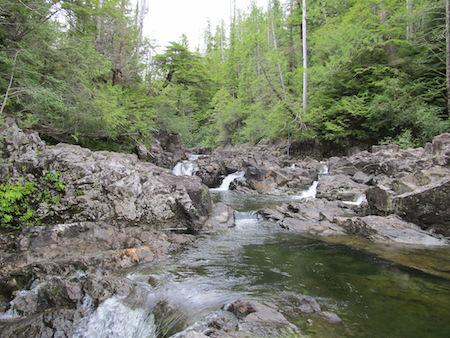 Lucky Creek, Vancouver Island