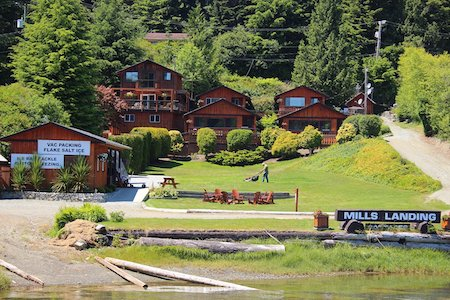 Mills Landing, Vancouver Island