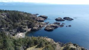 Biking Lasqueti Island, BC