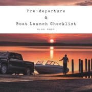 Pre-departure & Boat launch checklist