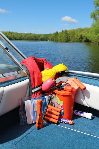 boat launch checklist - safety equipment