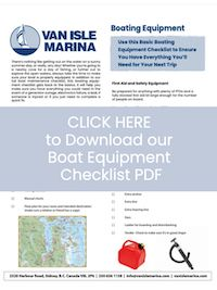 Boating Equipment Checklist cover image