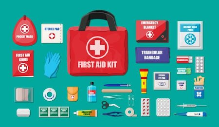 Boating First Aid Kit Contents