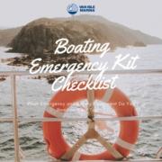 boat emergency kit checklist